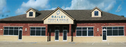 bailey foot & ankle building